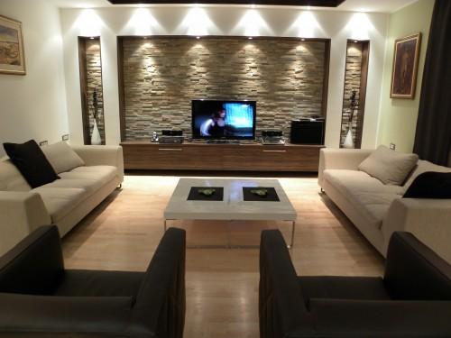 Casa immobiliare, accessori: rivestimenti parete pietra