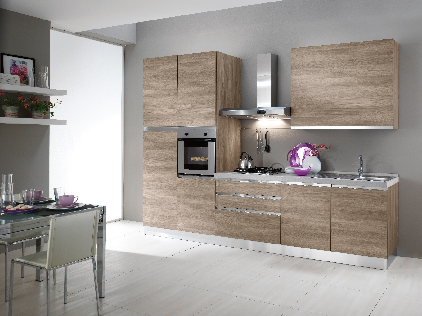 Beautiful emejing cucina with cucine ad angolo mondo for Case arredate mondo convenienza